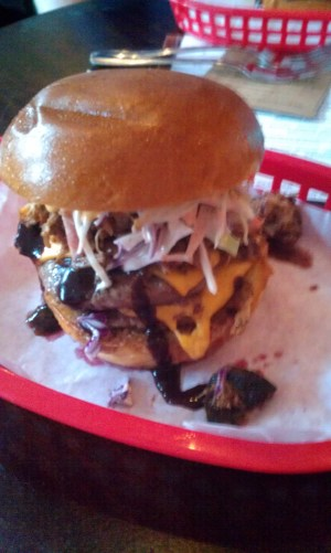 The Almost Famous Burger