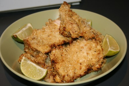 Coconut Crusted Lime Chicken