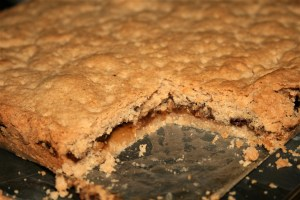 Mincemeat Shortbread Slice