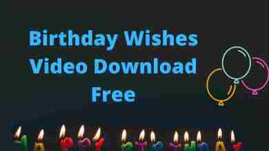 birthday wishes video download