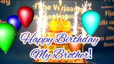 Best Happy Birthday Wishes Video Download