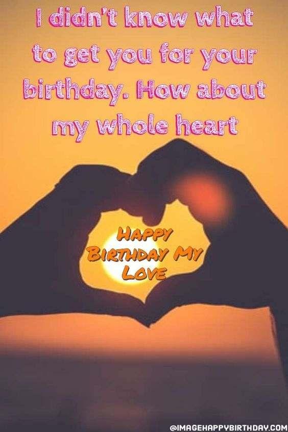 GF Birthday Wishes English Images
