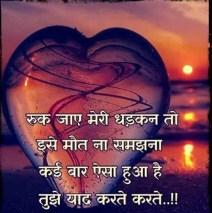 Happy Birthday Shayari For Lover hindi images