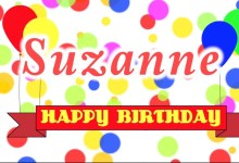 Happy Birthday Song For Suzanne Mp3 Download