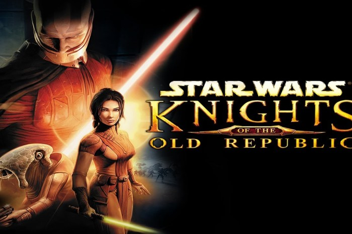 'Knights Of The Old Republic' Film Or TV Series Is In Development