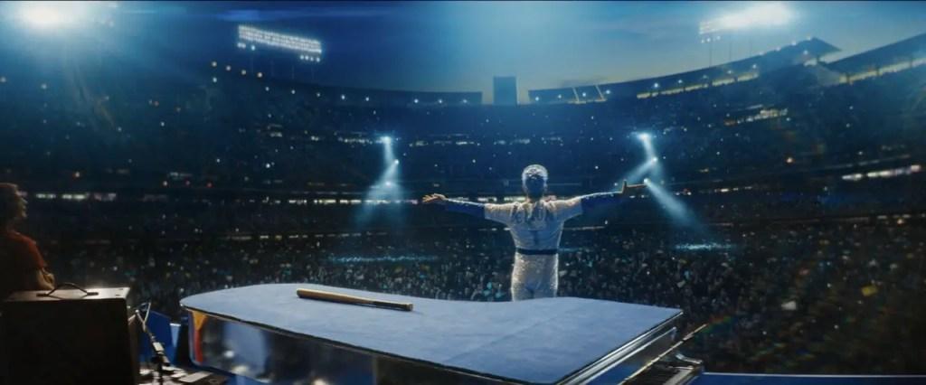 Elton Performing Titular Song