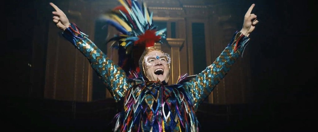 Rocketman - Elton As A Peacock