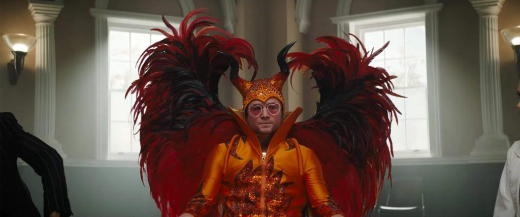 Elton In Devil Outfit