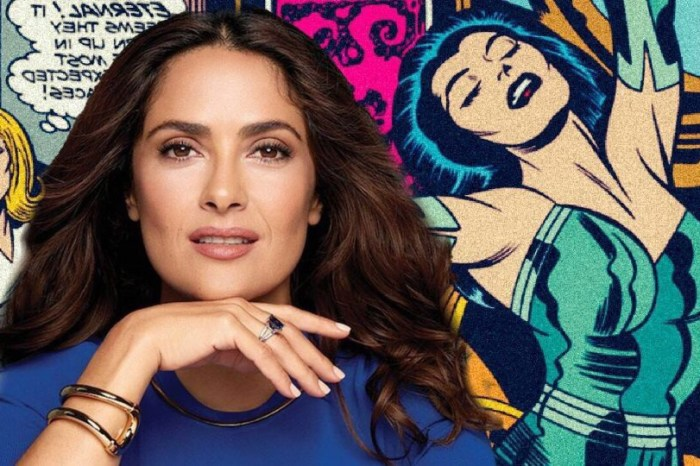 Salma Hayek In Talks To Join Marvel Studios' 'The Eternals'