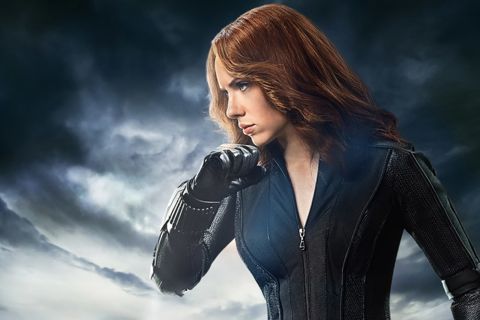 Leaked Set Photos Offer New Look At Scarlett Johansson In 'Black Widow'