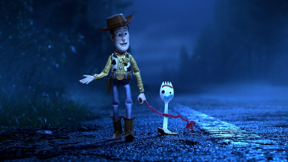 Toy Story 4 - Woody and Forky