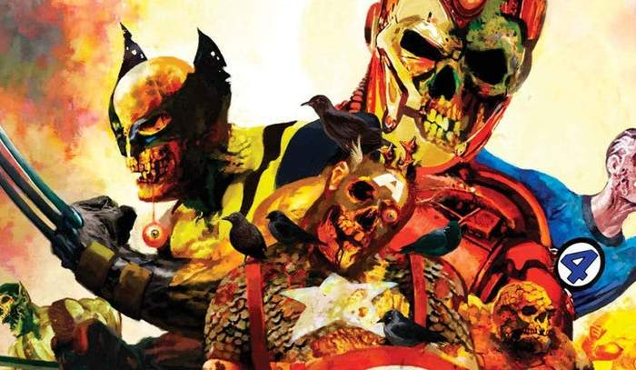 Marvel Studios' 'What If..?' Logo Potentially Teases Marvel Zombies
