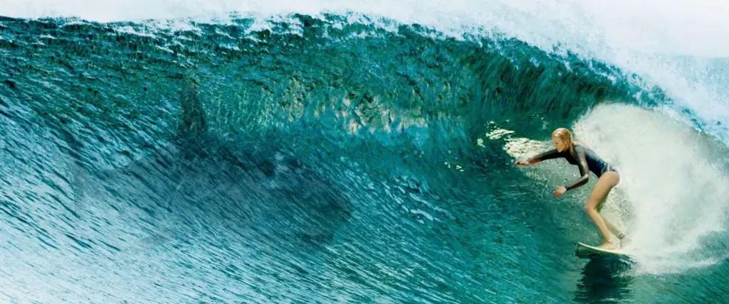 The Shallows - Nancy Surfing Near A Shark
