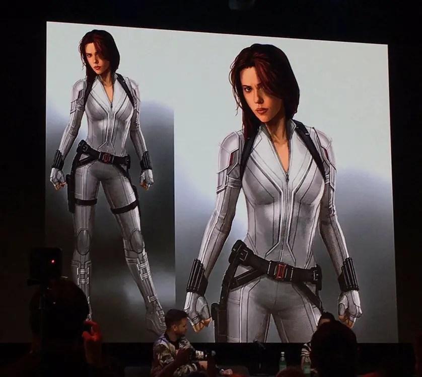 Black Widow Concept Art Reveals Natasha S White Suit