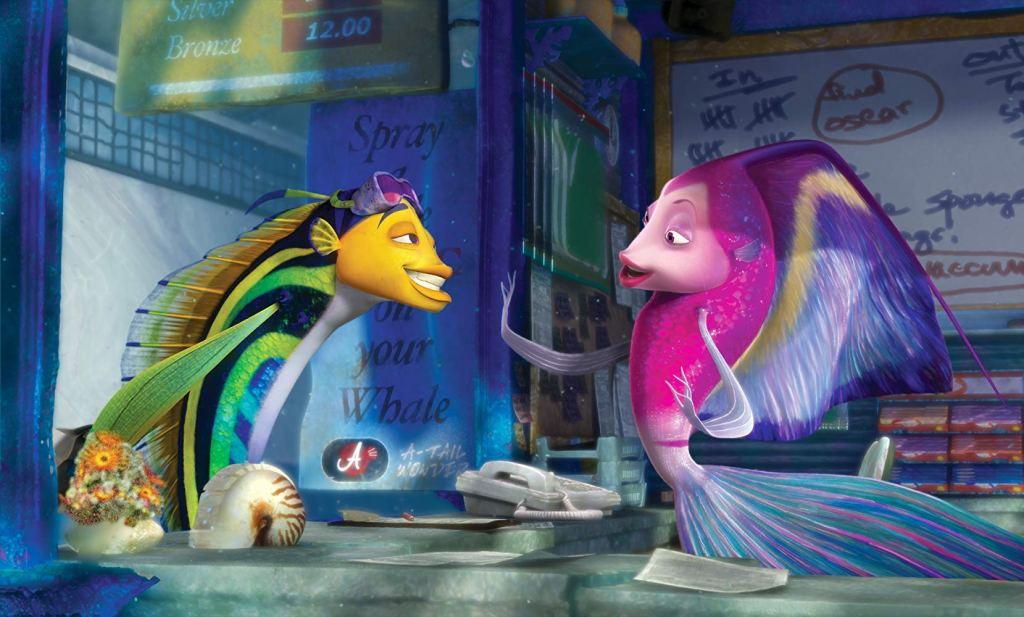 Shark Tale - Oscar and Angie