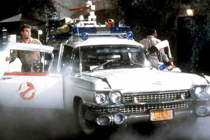 First Look At The Ecto-1 Revealed On Set Of 'Ghostbusters 2020'