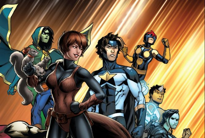Marvel's 'New Warriors' TV Series No Longer In Development
