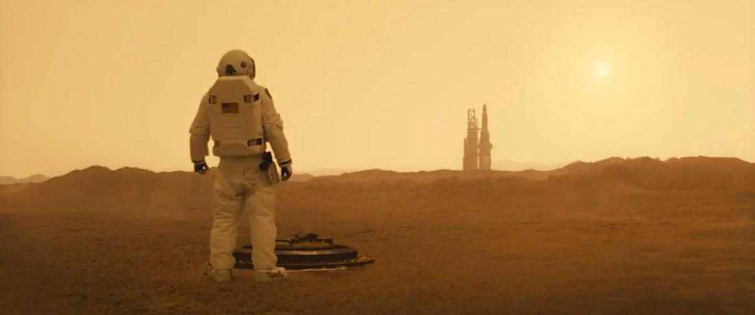 Ad Astra - Roy on Mars