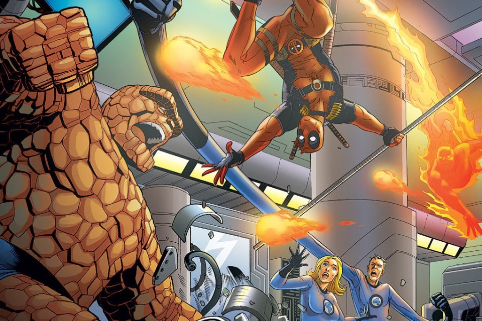 Deadpool vs Fantastic Four