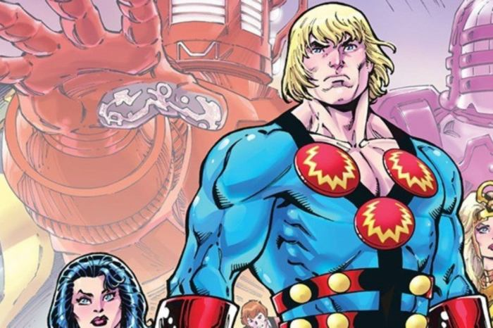 'Eternals' Set Photos Feature New Look At Richard Madden's Ikaris