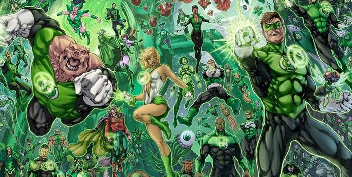 Geoff Johns Expected To Deliver 'Green Lantern Corps' Script By End Of The Year