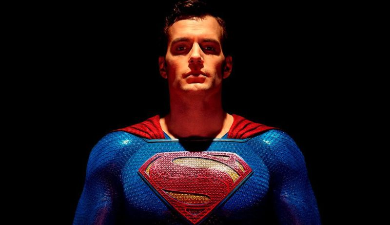 Cavill as Superman