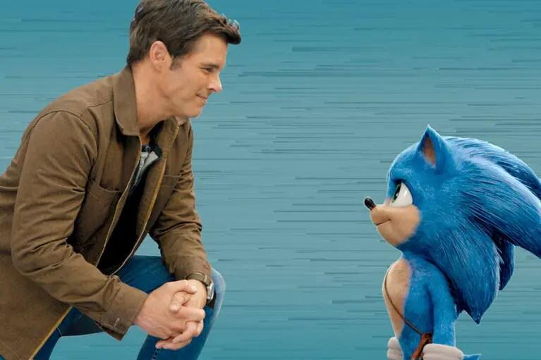 Sonic and James Marsden