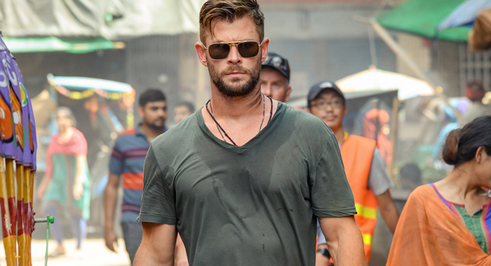 Extraction Movie Review Header -Chris Hemsworth