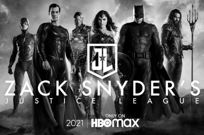 Zack Snyder's 'Justice League' Will Release In 4 One-Hour Parts On HBO Max