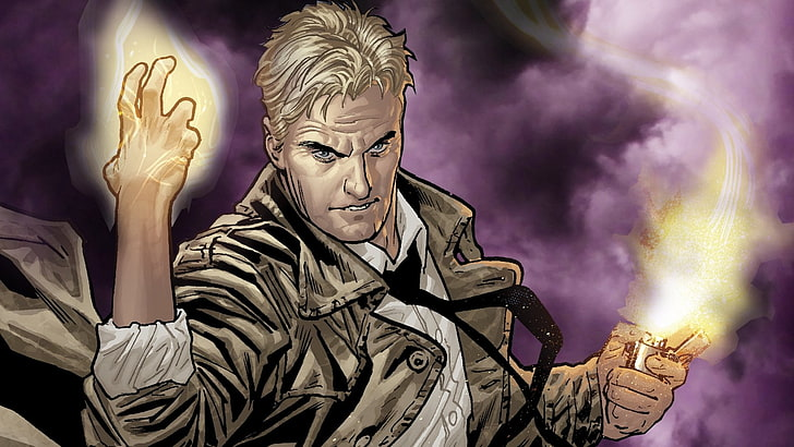 Constantine would be a great addition to 'Injustice 3'
