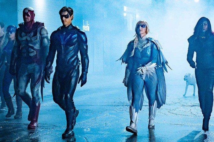 'Titans' Set Photos Tease The Team's Fate & Red Hood