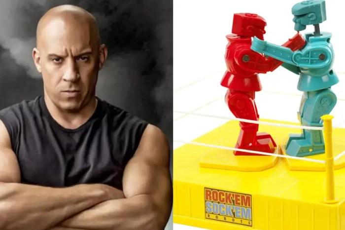 Vin Diesel To Star In Universal's Live-Action 'Rock 'Em Sock 'Em Robots' Movie