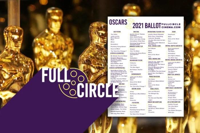 Oscars 2021 Ballot: Full Circle Forecast (Download)