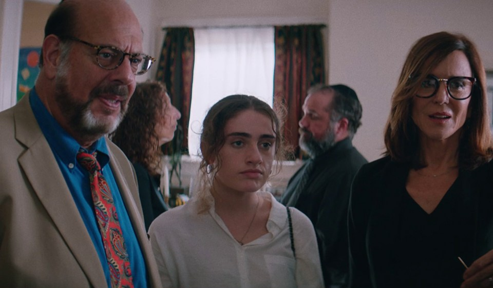 Shiva Baby Review - Fred Melamed, Rachel Sennott, and Polly Draper