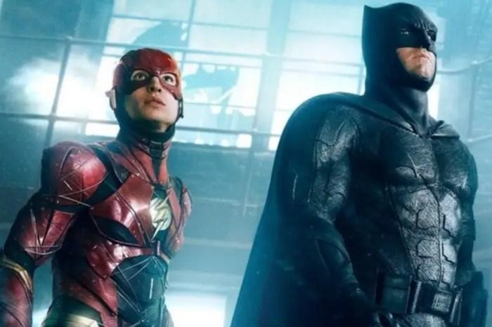 'The Flash' Set Photos Reveal First Look At Ben Affleck's Batman