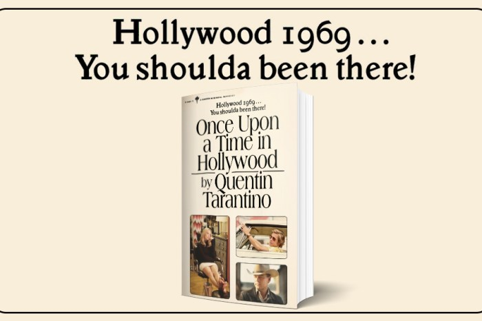 'Once Upon A Time In Hollywood' Novel Review