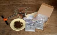 preparing samples for mailing