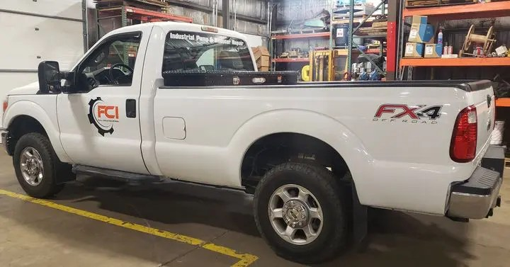 We have all types of vehicles available to pickup your items in need if repair. #repairservices