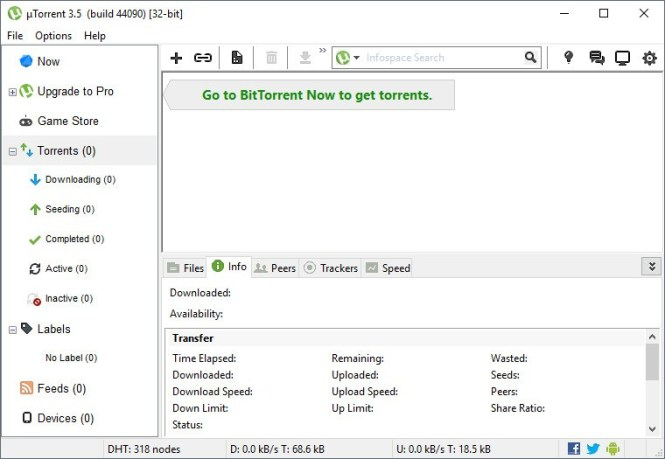 uTorrent 3.5.3 Beta 44484 Crack