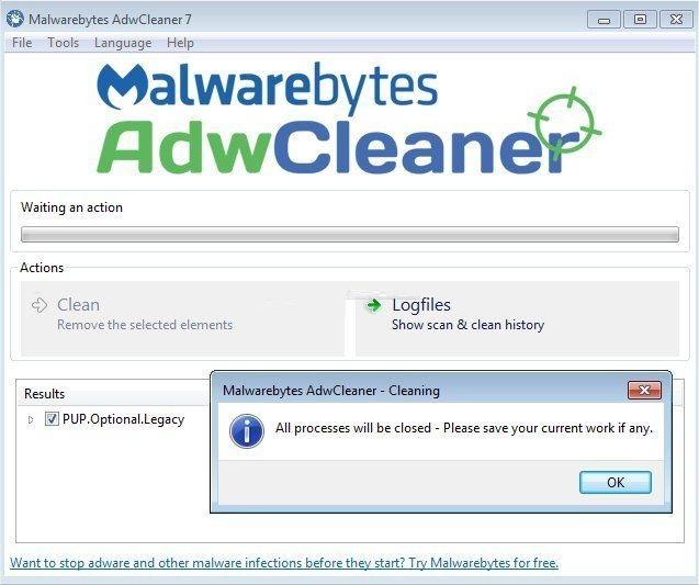 AdwCleaner 7.2.2.0 Crack