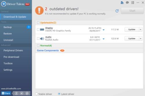 Driver Talent Pro 7.1.1.14 Crack