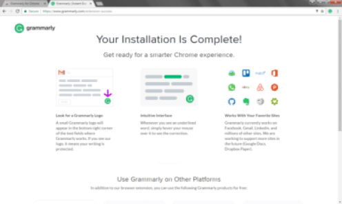 Grammarly for Chrome 14.855.1721 Crack