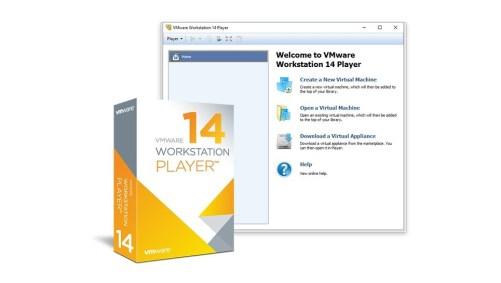 VMware Player 14.1.3 Crack