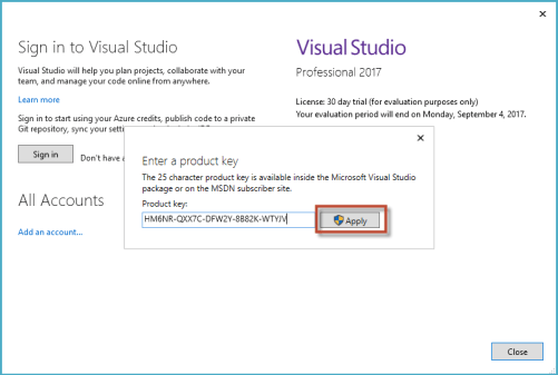 Visual Studio 2017 Crack