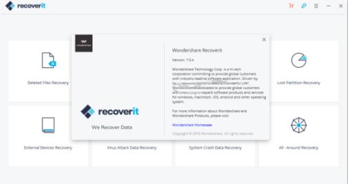 Wondershare Recoverit 7.1.4 Crack