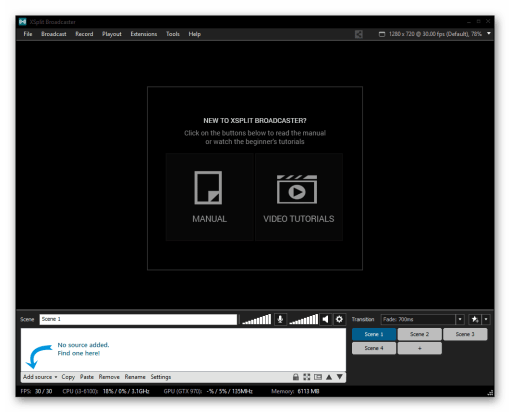 XSplit Broadcaster 3.5 Crack