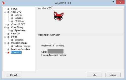 AnyDVD HD 8.3.0.1 Crack