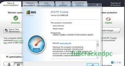 AVG PC TuneUp 20.1.2168 Crack + Keygen Free Download 2021