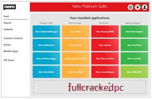 Nero Burning ROM 23.0.1.20 Crack + Keygen Free Download 2021