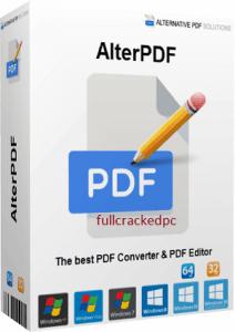 AlterPDF Pro 5.1 Crack